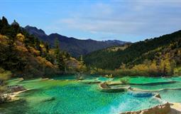 黄龙、花湖、月亮湾双汽五日游