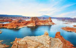 美国东西海岸+4大国家公园(黄石+拱门)+鲍威尔湖+双公路16天(风光览胜)