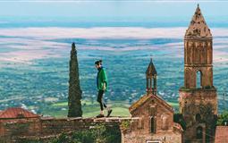 [一价全含]高加索格鲁吉亚+亚美尼亚+阿塞拜疆再现古丝路3国12日游<16人小团+重庆出发>(三国志)