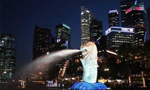 新加坡鱼尾狮公园