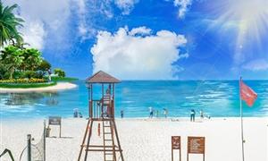 亚龙湾沙滩2