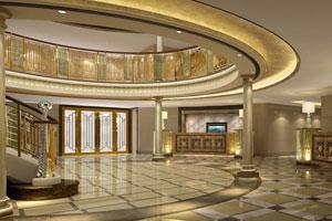 黄金7号游轮大厅