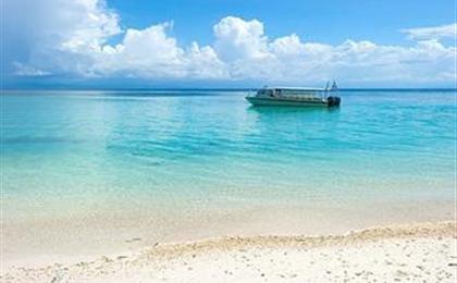 馬來西亞沙巴半自由行5/6日游<沙比島+馬穆迪島>深藍夢境 升級版