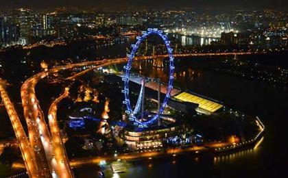 新加坡5天4晚自由行套餐<机票签证+酒店(1晚)+狮城全景通二日卡>可定制6日游