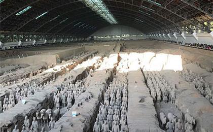 西安兵馬俑、華清池、驪山、明城墻雙飛\雙動3日游長安情節