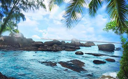 海南三亚蜈支洲岛+玫瑰谷+热带天堂森林公园+大小洞天纯玩5日游<玩转海陆空+0购物0自费>0购海陆空,大牌景点加入新潮元素,打卡网红蜈支洲岛、三亚海昌梦幻海洋不夜城、天堂森林公园