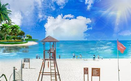 三亚分界洲岛-呀诺达-大东海-亚龙湾-天涯海角双飞5日游<一价全包>海景大别墅