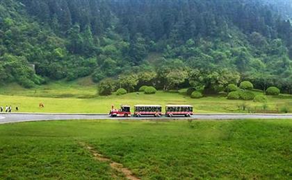 """武隆仙女山+天生三桥品质纯玩一日游<含天坑换乘车+含仙女山小火车>品质纯玩,游览世界第二大天坑群—天坑三硚风景区,游览享有""""东方瑞士""""之称的—仙女山国家森林公园"""