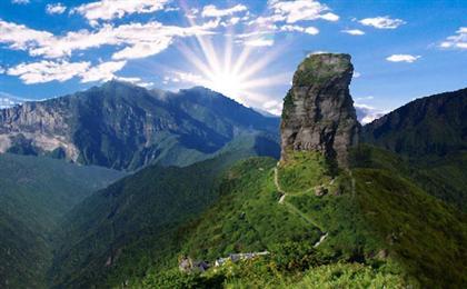 貴州梵凈山、苗王城、亞木溝汽車三日游<梵天凈土>重慶周邊3日游