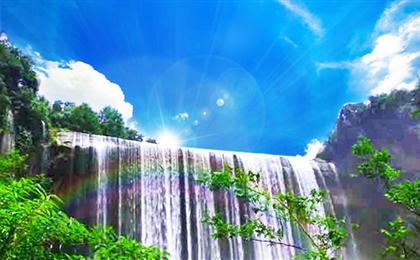 B線云陽龍缸云端廊橋+張飛廟+萬州大瀑布常規二日游天下云陽,世界廊橋