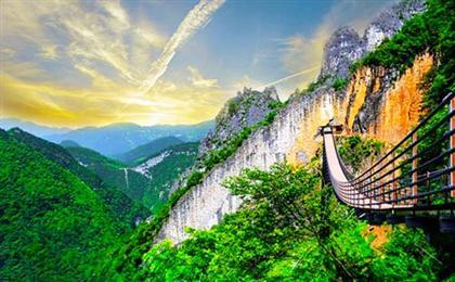 涪陵武陵山大裂谷-816地下核工程1日游休闲直通车