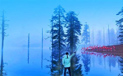 瓦屋山风景区赏雪+峨眉象城+烟雨柳江3日游<每周2/5发团>冰雪嘉年华