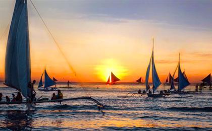 菲律宾宿雾+长滩岛自由行6/7日游往返机票+酒店住宿+早餐+接送机