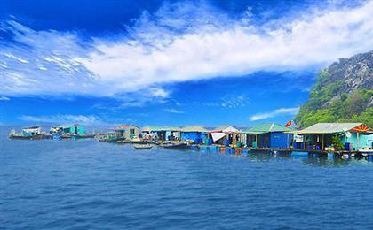 越南河内-下龙湾-海防-天堂岛双飞5/6日游<含签含杂>秀色越南