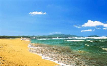美国塞班岛半自由行5日游郊区酒店香港转机,免签海岛