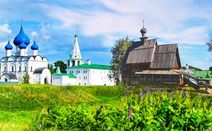 俄罗斯莫斯科-彼得圣堡-金环(谢镇+苏兹达里+弗拉基米尔)双飞9日游年度经典 一价全含