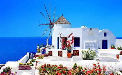 [QR一价全含]希腊一地半自由行8日游<雅典五星酒店+圣岛悬崖酒店>绝色双岛,天籁