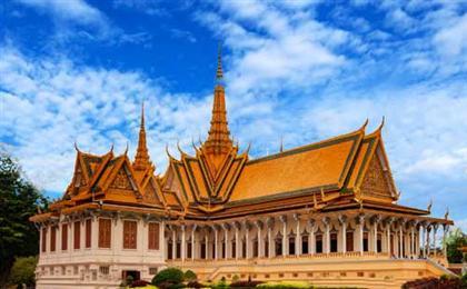 柬埔寨5天4晚半自由行<机票+酒店(双早)+单次接送>吴与伦比