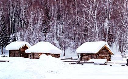 哈尔滨-亚布力滑雪-中国雪乡-北方三亚湾雪地真温泉双飞6日游冰雪集结号