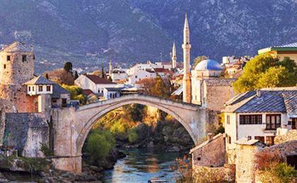 [东欧免签]塞尔维亚+黑山共和国+波黑3国12天<QR重庆起止,0自费0购物>(巴尔干之旅)世界遗产-科托尔古城+莫斯塔尔古桥,电影拍摄地-塔拉河谷大桥+木头村