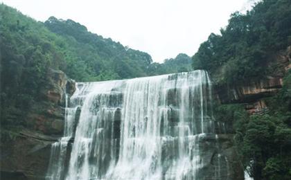 赤水大瀑布、四洞沟二日游春色丹霞赤水-中国丹霞第一瀑