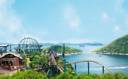 香港澳門單/雙樂園純玩半自由行5日游重慶直飛飛香港
