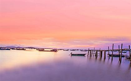 广州+港珠澳大桥(上桥)+澳门+海陵岛+茂名+湛江双动双飞6日游(粤西之南海寻梦)走进东方的夏威夷-海陵岛,黄金沙滩-中国第一滩,穿越世纪工程-港珠澳大桥,享特色海鲜餐