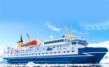 [穿越極圈]南極+智利13天冒險之旅<海洋新星號郵輪+南設得蘭群島+極地半島>(B1飛躍南極)北京出境,包機2小時飛躍死亡地帶-德雷克海峽,穿越南極圈,極地冰川探險