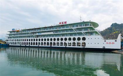 【新高湖号游轮】重庆到长江三峡2日游<人车同行+奉节登船>可以带汽车上船的三峡游轮,奉节登船,含餐